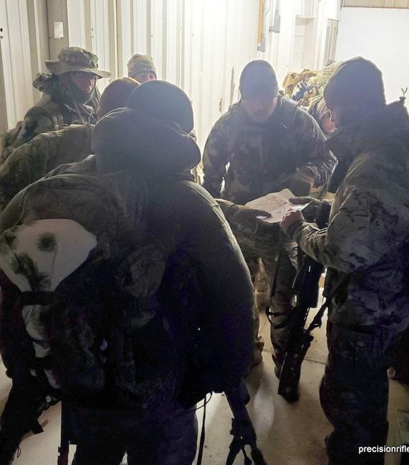 PRW 50 BMG course for LE
