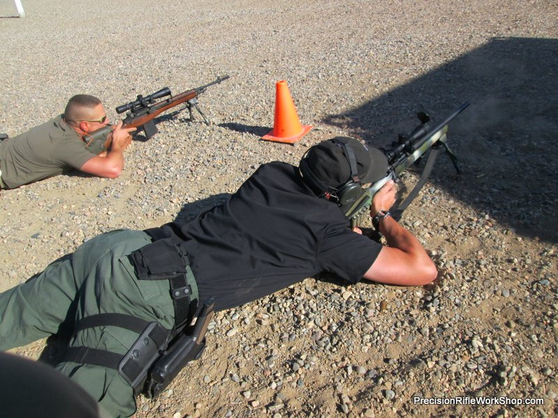 PRW Scoped rifle for patrol course